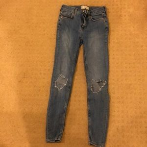 Free people denim jeans